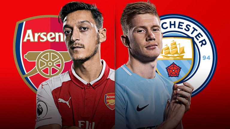 Arsenal Manchester City TV kanal  vilken kanal sänder Arsenal vs Man City på  TV  e3150df257dd9