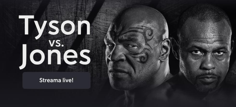 Mike Tyson vs Roy Jones TV kanal: vilken kanal visar Tyson Jones boxnings fight på TV?