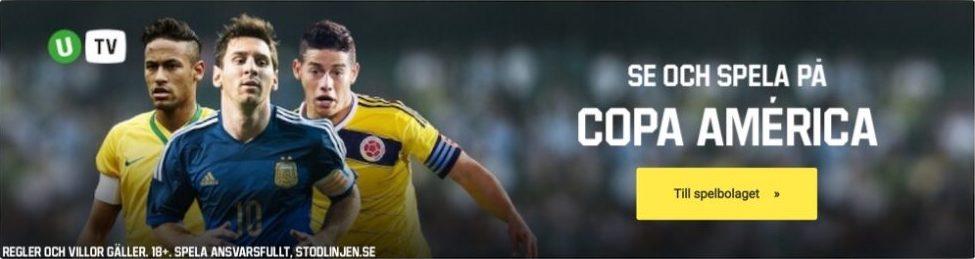 Copa America TV kanal- vem sänder Copa America på TV?