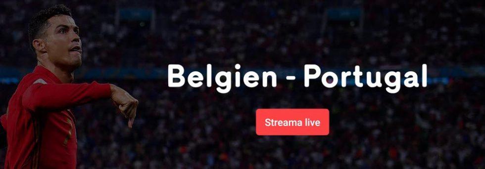 Portugal Belgien TV kanal – vilken kanal sänder EM-matchen Portugal och Belgien på TV?