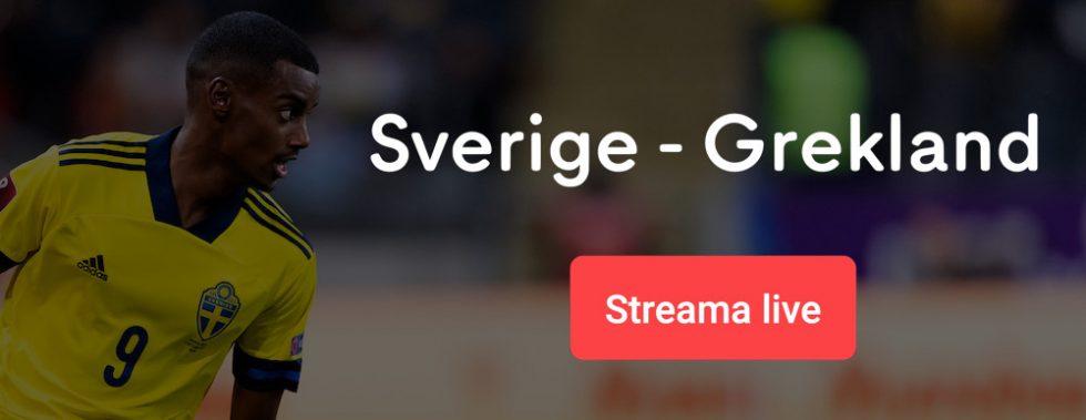 Sverige Grekland TV kanal